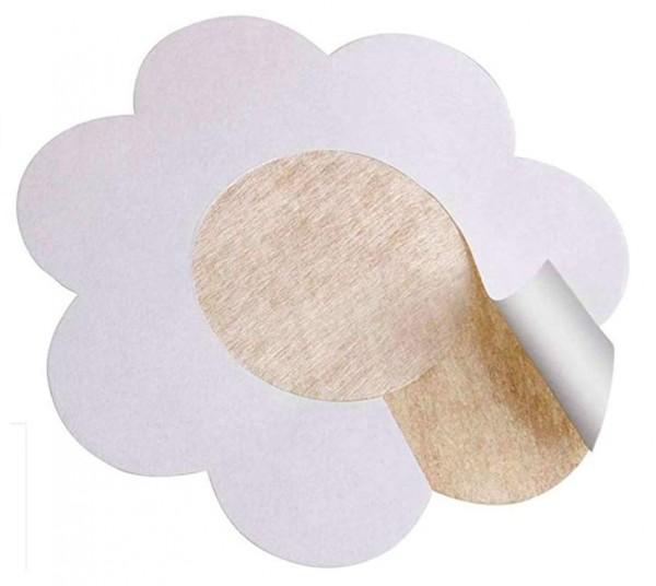 Nippelabdeckung Nippel Cover Einweg Sticker im Flower Cut